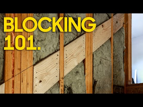 5 Critical Blocking Areas. Watch this before Drywall! [Video]