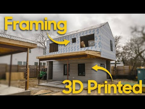 Is this the future of Construction? 3D Concrete Printed Homes [Video]