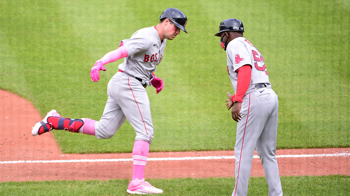 Watch Hunter Renfroe Give Red Sox Three-Run Lead With Home Run [Video]