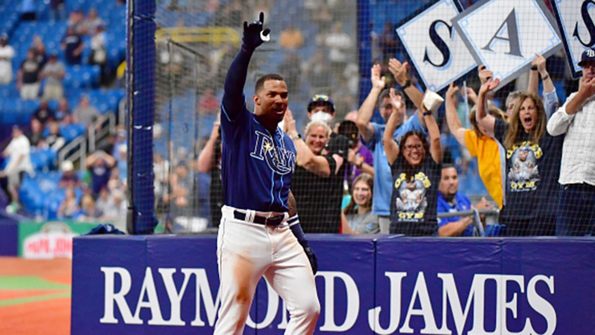 Must See: No. 1 MLB prospect Wander Franco homers in first big league game – Video [Video]