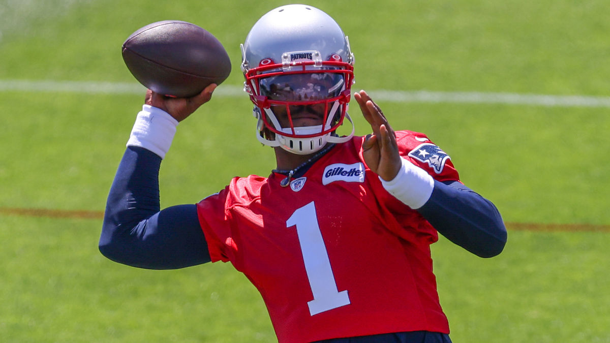 Cam Newton Clearly Fired Up In This Patriots Minicamp Highlights Video [Video]