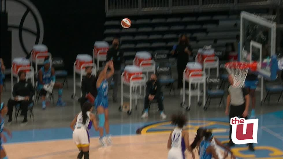 WCIU, The U   Candace Parker and the Sky look for their 4th straight win on The U [Video]