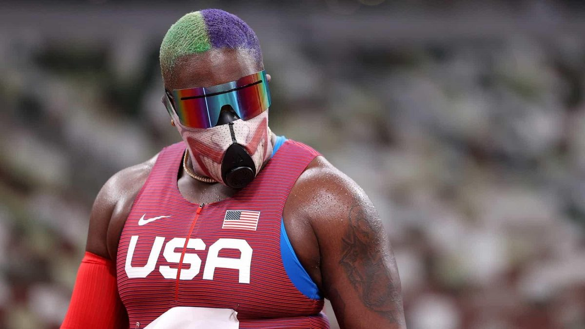 The many faces of American shot put standout Raven Saunders [Video]