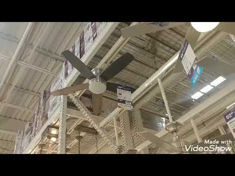 Title Ceiling Fans at The Home Depot in Rockaway NJ. [Video]
