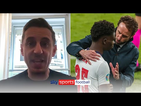 Gary Neville analyses England's defeat and strongly condemns racial abuse in passionate speech [Video]