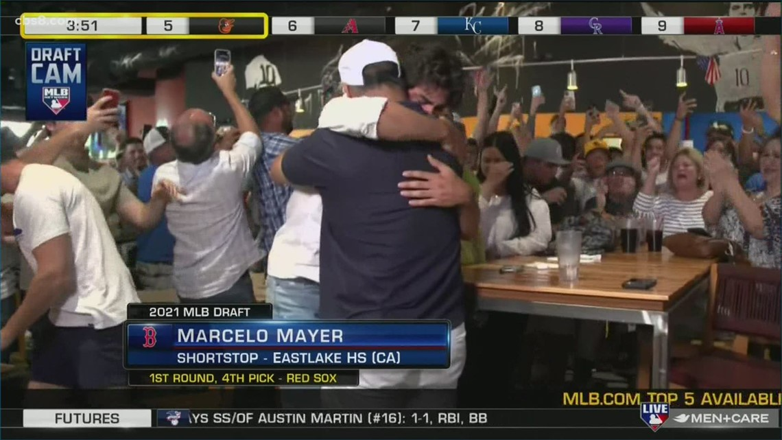 Two San Diego County high school shortstops taken in the first round of MLB draft [Video]