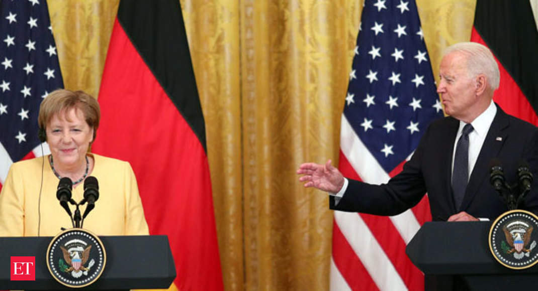 Joe Biden, Angela Merkel stress friendship while agreeing to disagree on 'Russia-to-Germany gas pipeline' – The Economic Times Video [Video]
