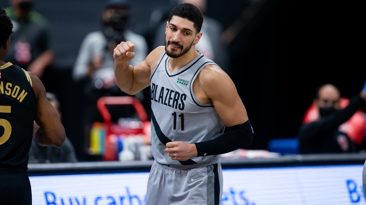 Enes Kanter Bids Farewell To Trail Blazers: 'See Y'all Probably Next Year' [Video]
