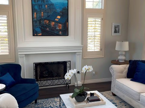 BEFORE & AFTER: 90s Home Renovation – Painted Fireplace Mantle [Video]