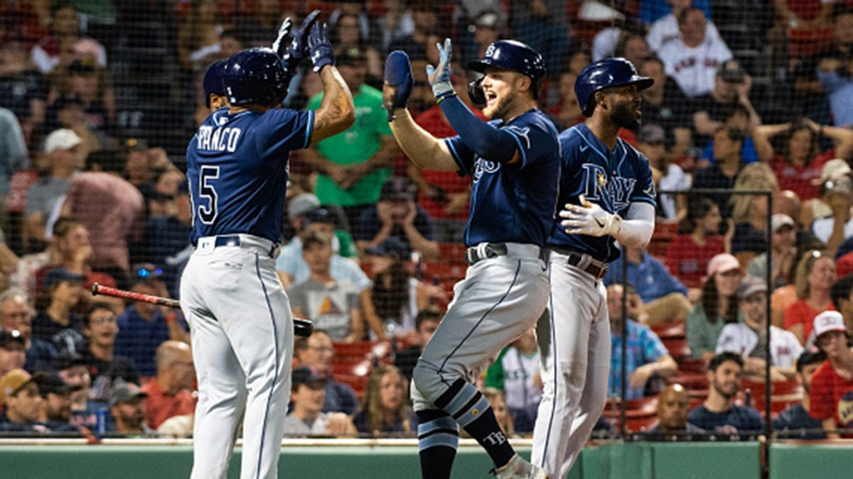 MLB: Rays 8, Red Sox 4 – Video [Video]