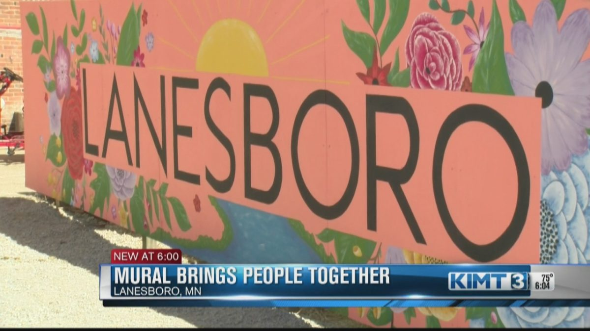 New Lanesboro mural brings together community members and tourists [Video]