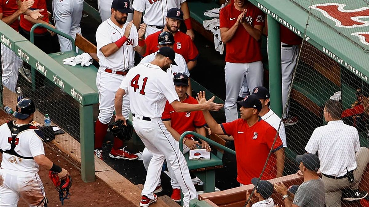 Red Sox's Chris Sale Shows Appreciation After Returning To Mound [Video]