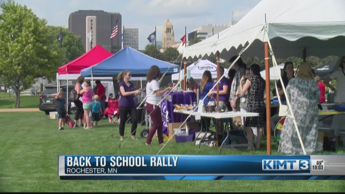 Community partners host 'Back to School Rally' at Soldiers Field [Video]