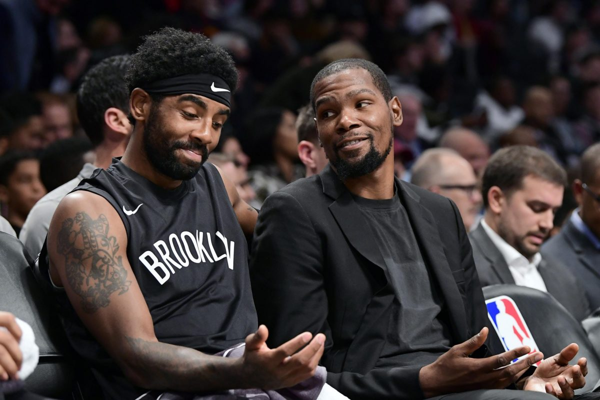 Kevin Durant says people don't like Kyrie Irving because he left both Cleveland and Boston [Video]