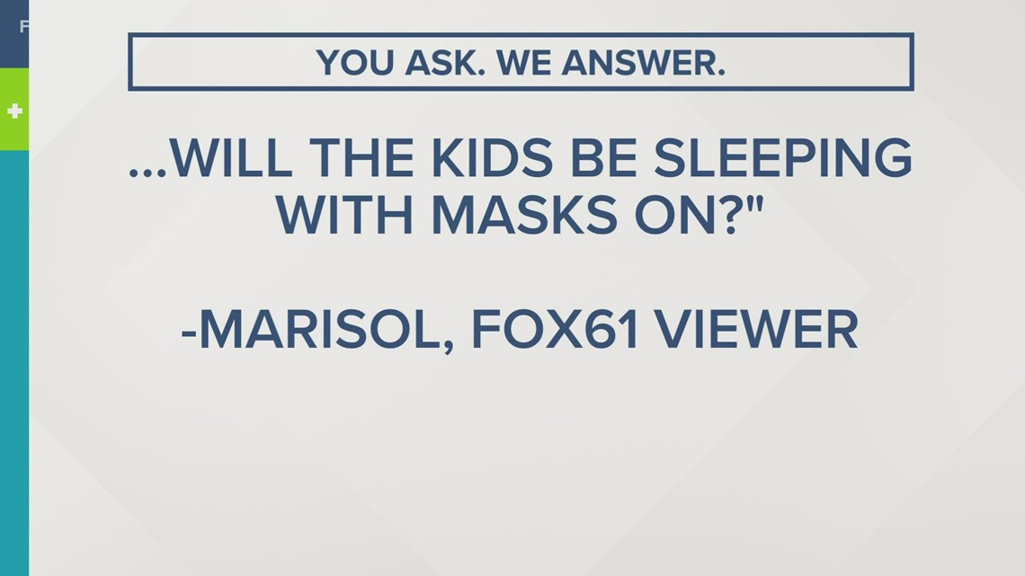 You ask. We Answer | Will kids be napping at school with their masks on? [Video]
