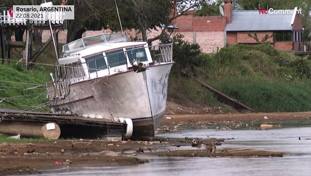 Parana River water level drops to historic low [Video]