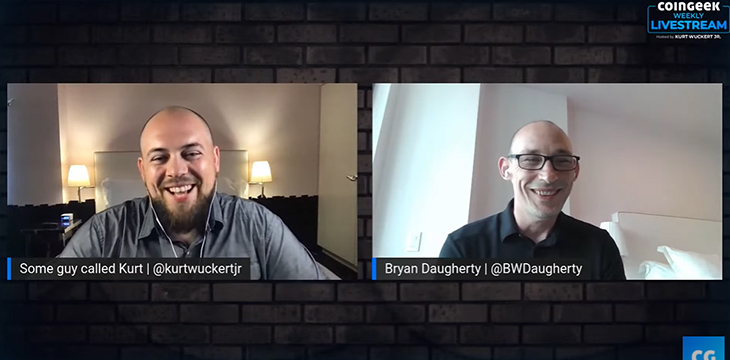 CoinGeek Weekly Livestream: Bryan Daugherty discuss ways and tools to seize opportunities in BSV ecosystem [Video]