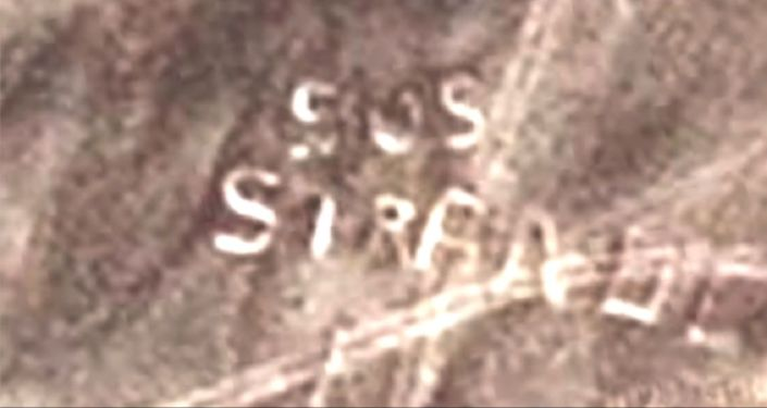 Size Matters: Huge 'SOS Message' Spotted in 'Remote Desert' by YouTube Sleuth [Video]