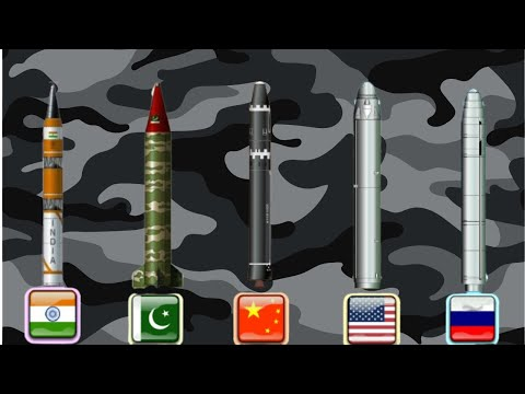 Missile Range Comparison of Nuclear Power Countries | TOP 10 [Video]