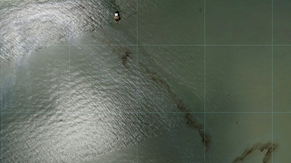 Divers identify source of post-Ida oil leak in Gulf of Mexico [Video]