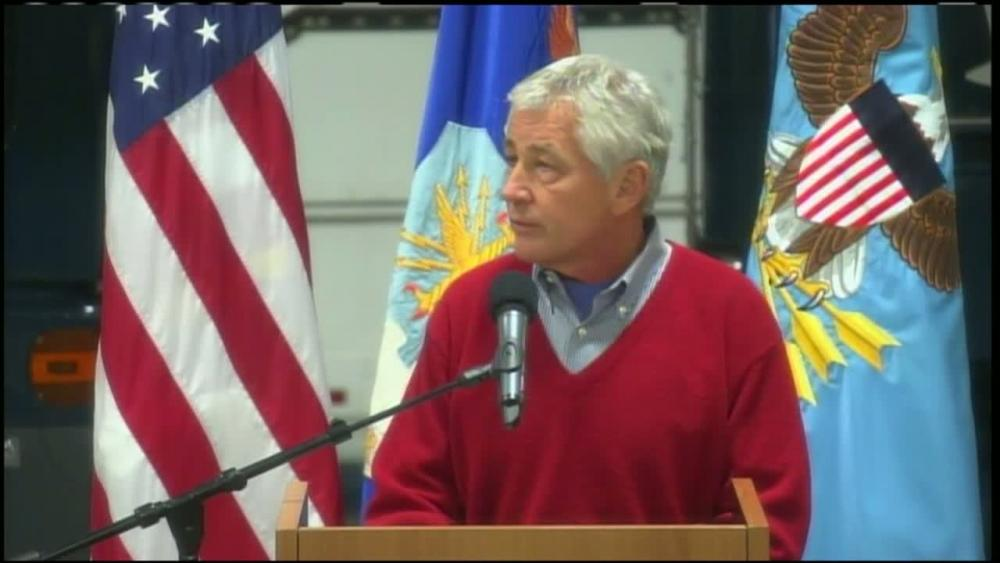 DVIDS – Video – Hagel Pledges Continued Commitment to U.S. Nuclear Deterrent [Video]