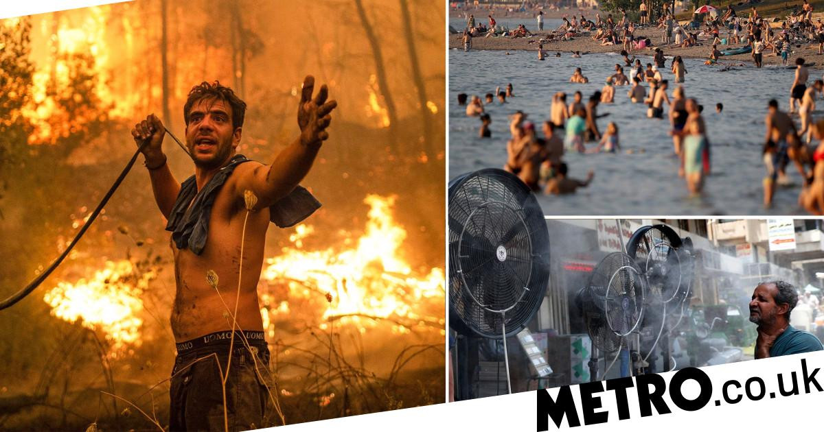 World now has twice as many days over 50C [Video]