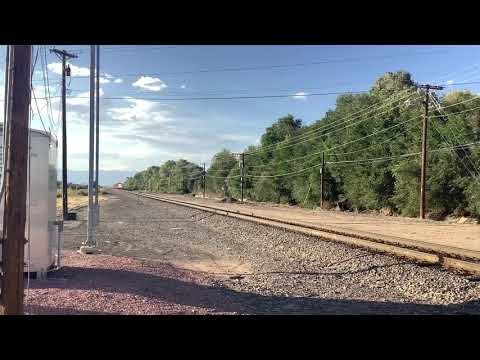 A Southbound BNSF #9171 Loaded Energy Coal Train [Video]