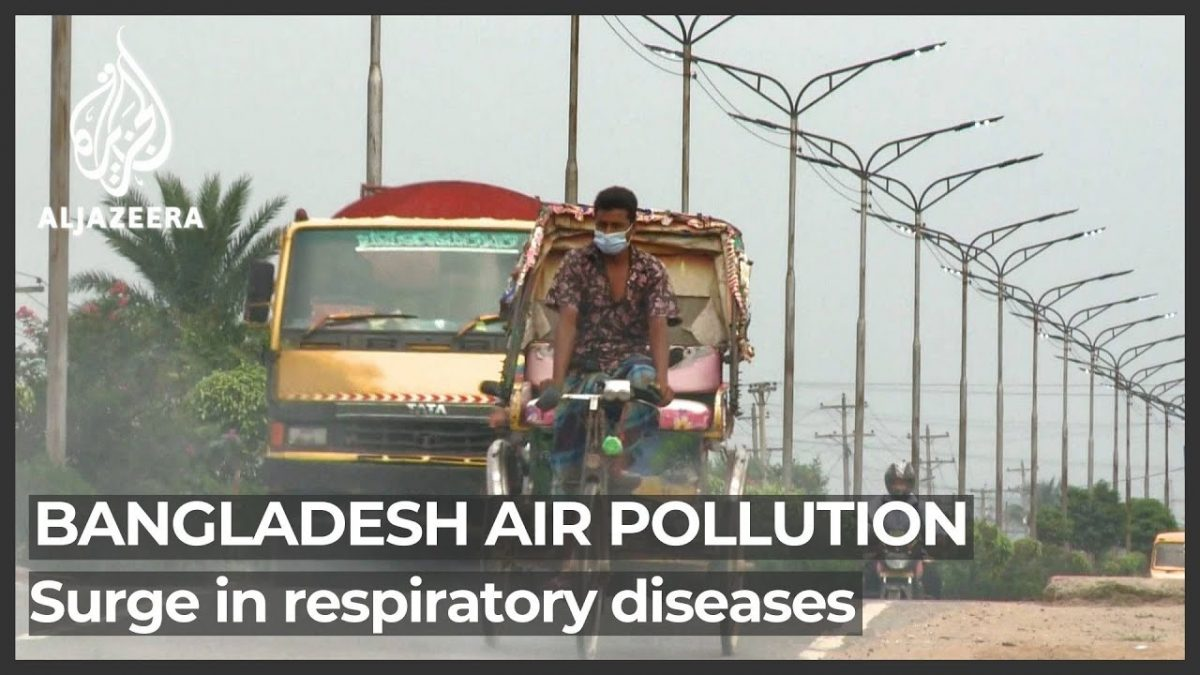 Bangladesh air pollution damages lives, environment and economy  NewsX.tv [Video]