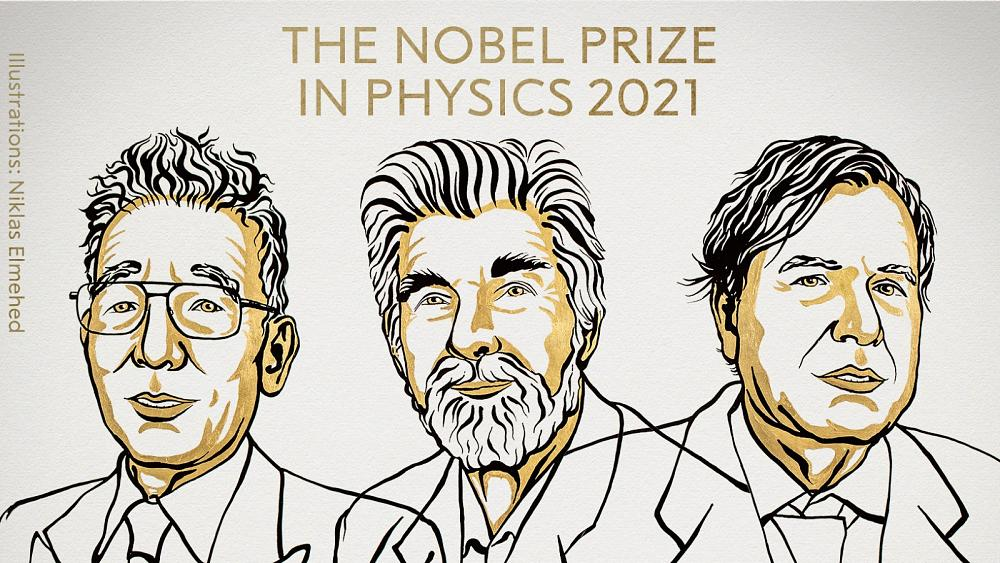 Nobel Prize in Physics: Two Europeans among winning trio for work on 'climate & physical systems' [Video]