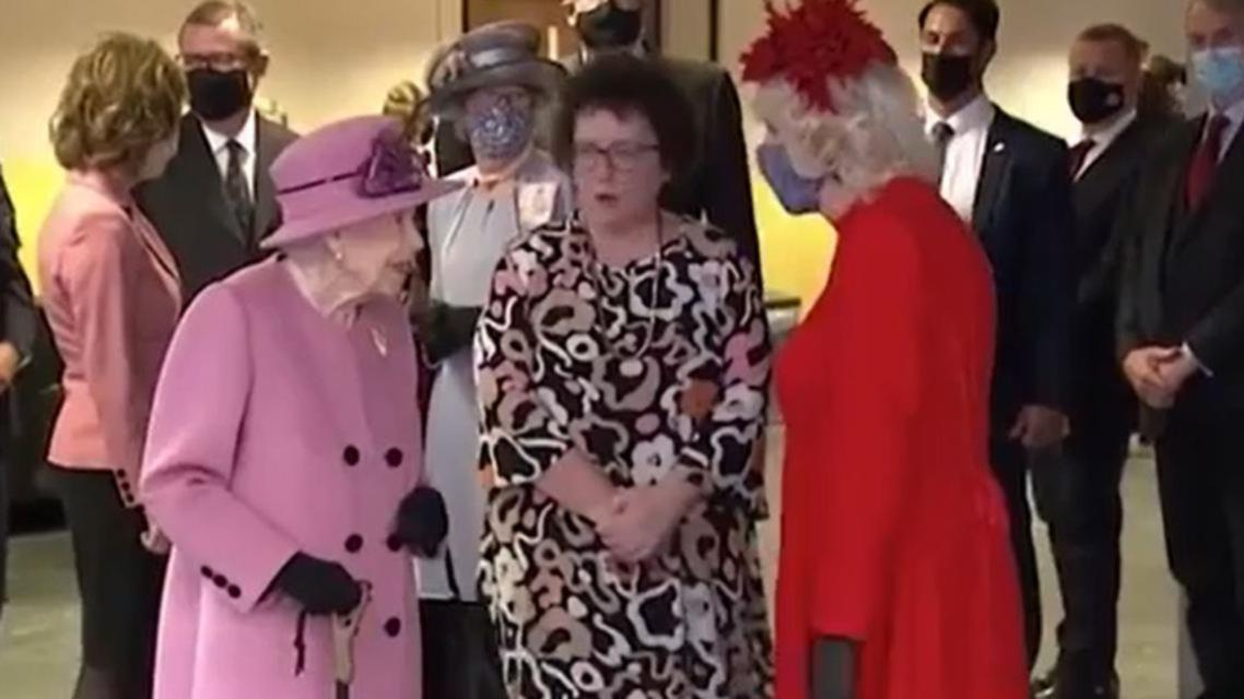 Queen Elizabeth II caught on camera criticising world leaders over COP26 climate change summit [Video]