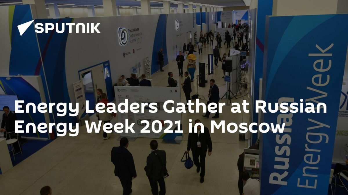 Energy Leaders Gather at Russian Energy Week 2021 in Moscow [Video]