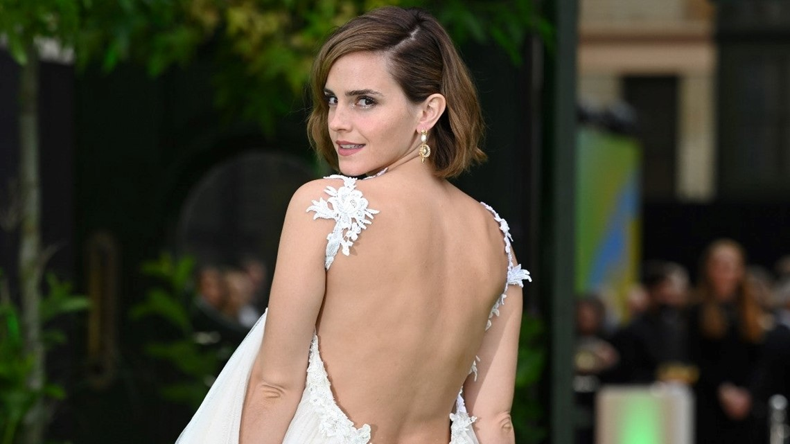 Emma Watson Hits Her First Red Carpet Since 2019, Mingles With Ed Sheeran and the Royals [Video]