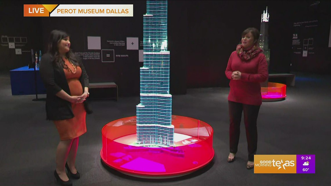 Lego Towers of Tomorrow exhibit at the Perot Museum [Video]