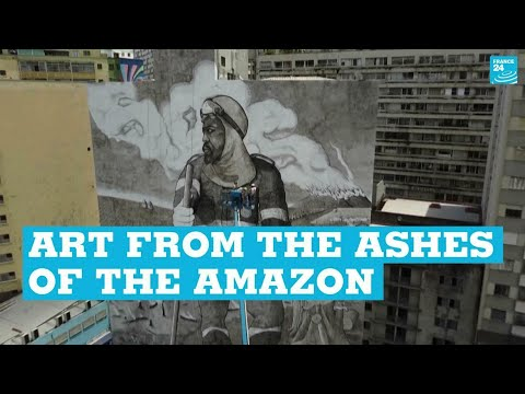 Art from the ashes of the Amazon • FRANCE 24 English [Video]
