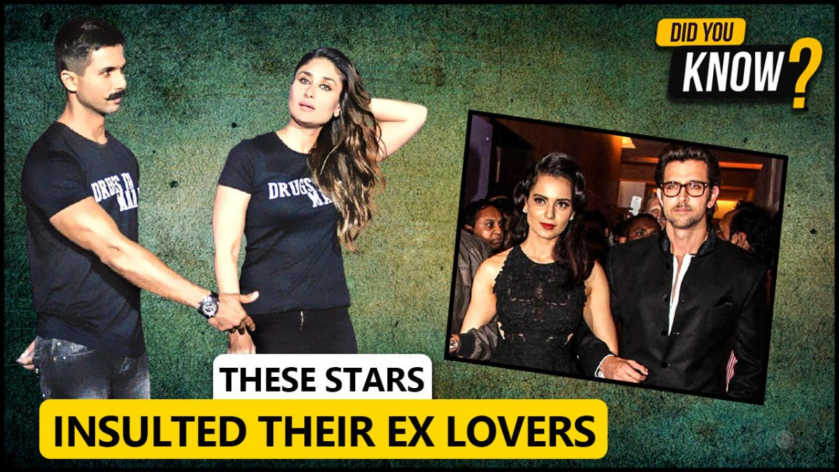 These Celebs Publicly Insulted Their Exes | [Video]
