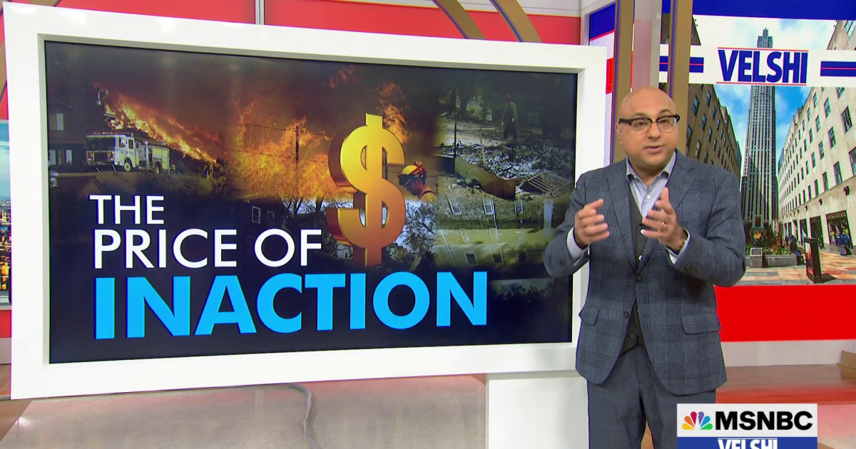 Velshi: The cost of climate change [Video]