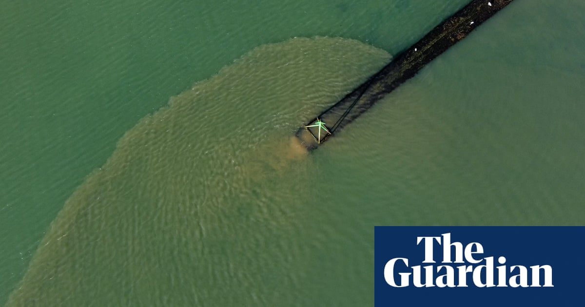 Drone footage shows sewage pumping into sea in Hampshire conservation area video | Environment [Video]