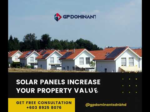 Solar Panels Increase Your Property Value [Video]