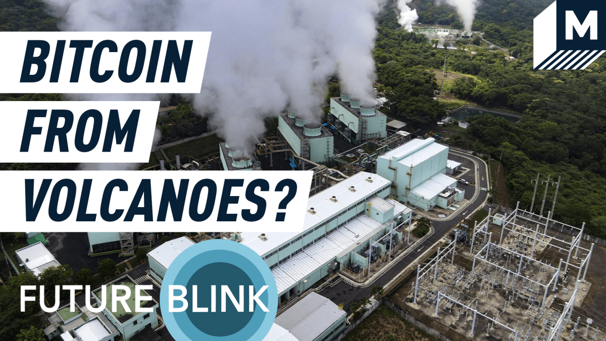 The solution to bitcoin's massive carbon footprint could be…volcanoes?  Future Blink [Video]